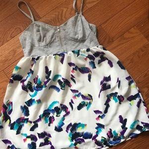 BRUSTROKE BUSTIER DRESS
